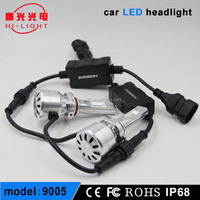 72W 9600LM H4 9005 9006 High Quality car Led Headlight Conversion Kit for Mazda 6