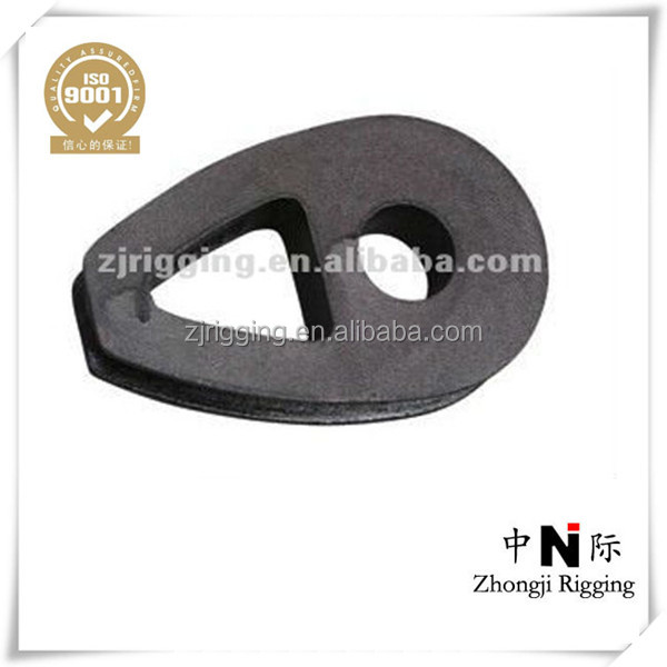 Professional ductile iron malleable wire rope thimbles with DIN 3091