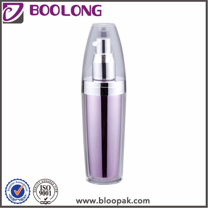 Promotional top quality acrylic bottle cosmetic