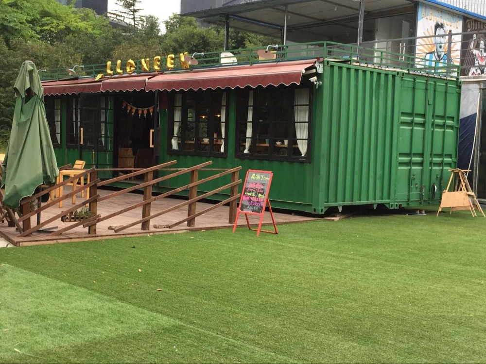 The Container Restaurant Bar Made By Second Hand Shipping Container Buy The Container