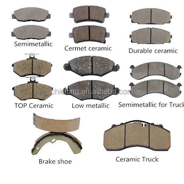 Brake Pad Material Types : D for toyota cbk brake pads buy pad