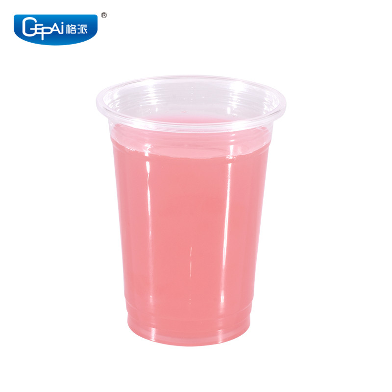 Popular environmental disposable bear clear plastic <strong>cup</strong>