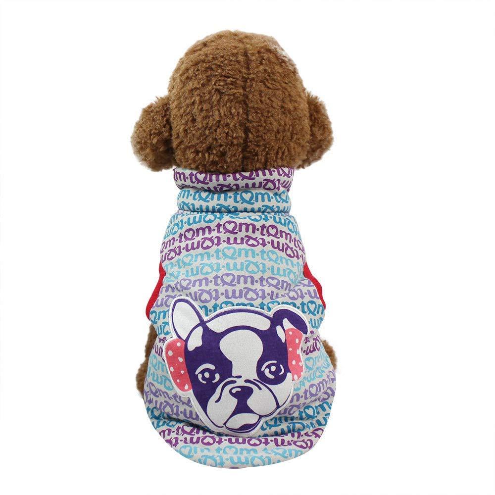 HpapadksDress Vest,Cute high Collar Dog Vest pet Costume Small Puppy Costume
