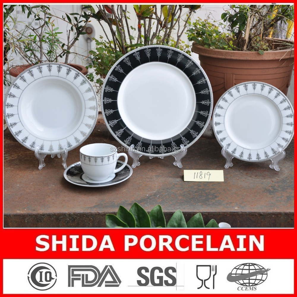 20pcs Ceramic/porcelain Turkish Tableware With Silver Design - Buy French TablewareTurkish TablewareCeramic Christmas Tableware Product on Alibaba.com & 20pcs Ceramic/porcelain Turkish Tableware With Silver Design - Buy ...