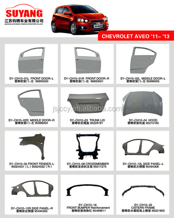 Car Body Panel Replacement Chevrolet Epica Fender Panel Buy