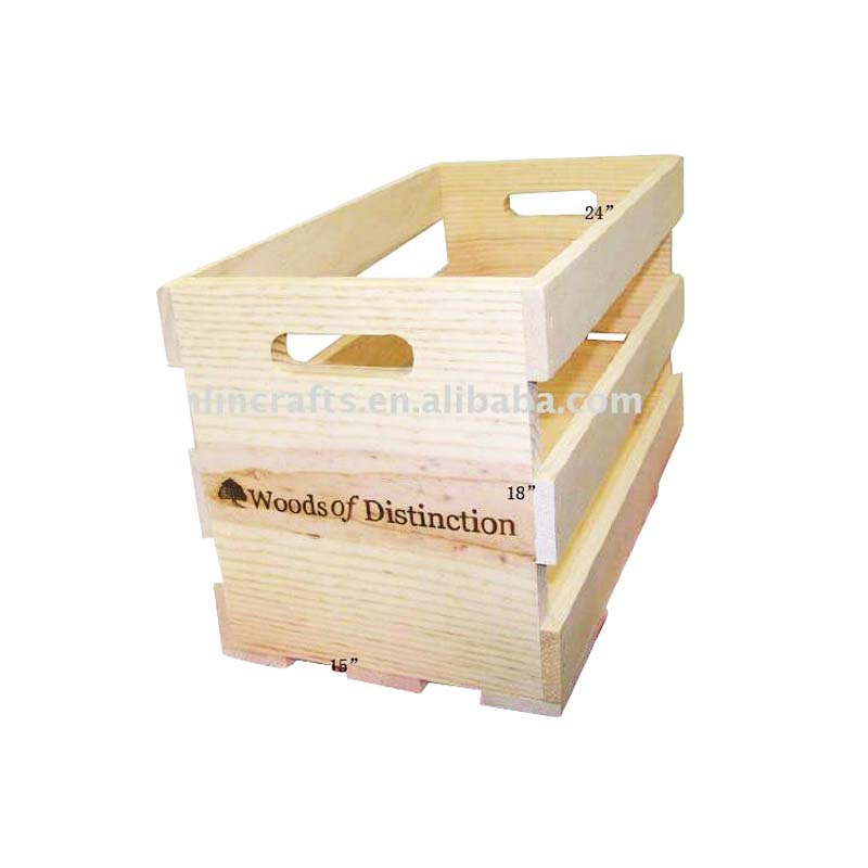 Cheap wooden fruit crates for sale buy wooden crates for Where do i find wooden crates