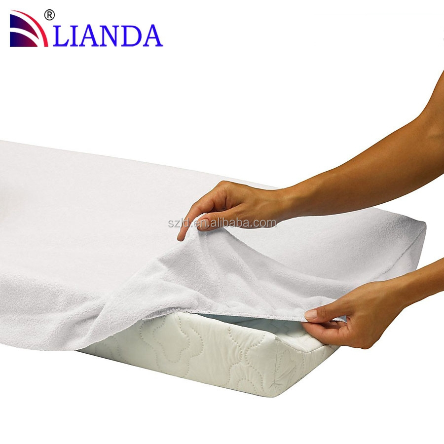soft cotton cover and waterproof covered changing pads washable changing mat wedge changing pad