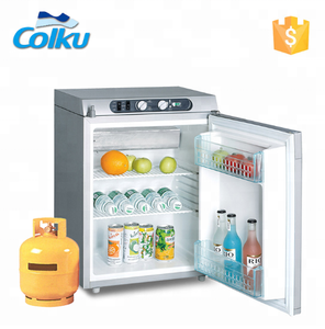 single door refrigerator 3 Way Power Supply 60L Lpg Gas Refrigerator For Sale