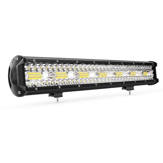 Lumens สูง 20 นิ้ว 420 วัตต์สามแถว LED ไฟสำหรับ Off Road รถบรรทุก