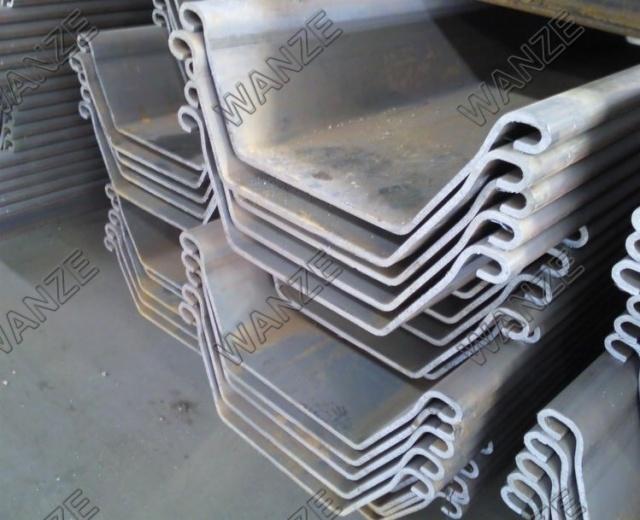 Manufacturer Preferential Supply Z-steel Sheet Pile/hot Rolled ...