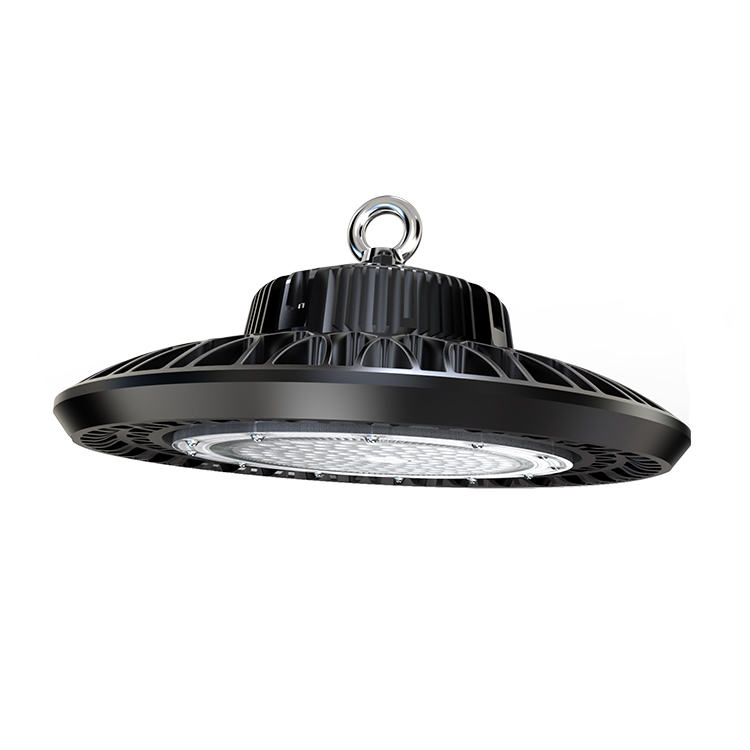 100W 150W 200W UFO LED high bay light 170lm//w warehouse Shop IP65 Retrofit light