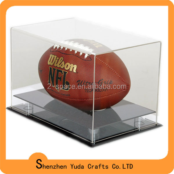 Black Acrylic base for Ball Stand Rugby Display box
