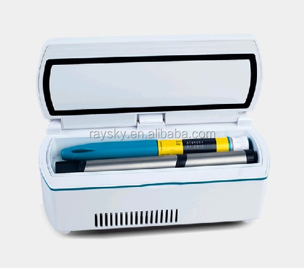 Portable insulin cold boxes
