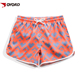 China factory cheap price custom printed short beach pants swimming bathing suit for women