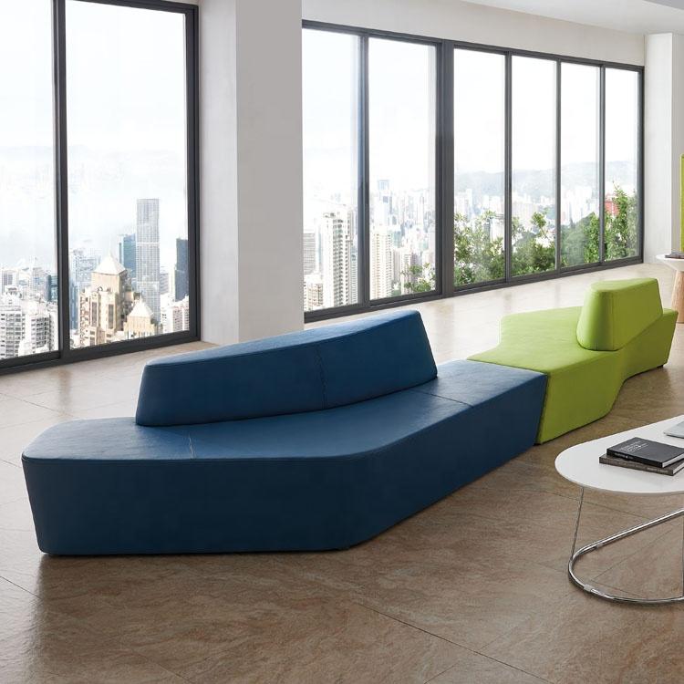 Elegant Modern Design Reception Sofa