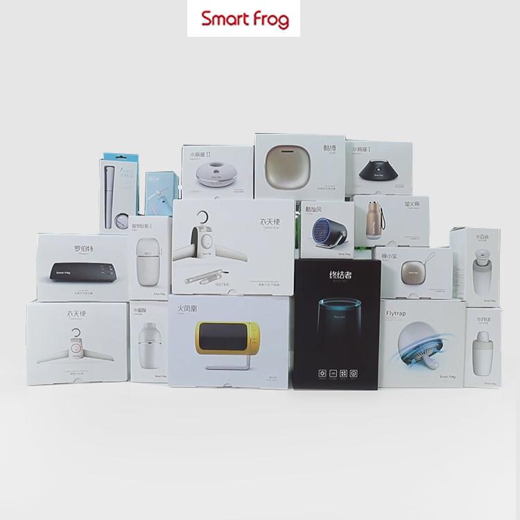 Smartfrog portable electric desktop fan ceramic small fan heater