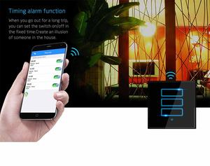 New WIFI ZIGBEE technology 2018 Hot sale electrical switch WIFI Smart home system support Google home & Alexa