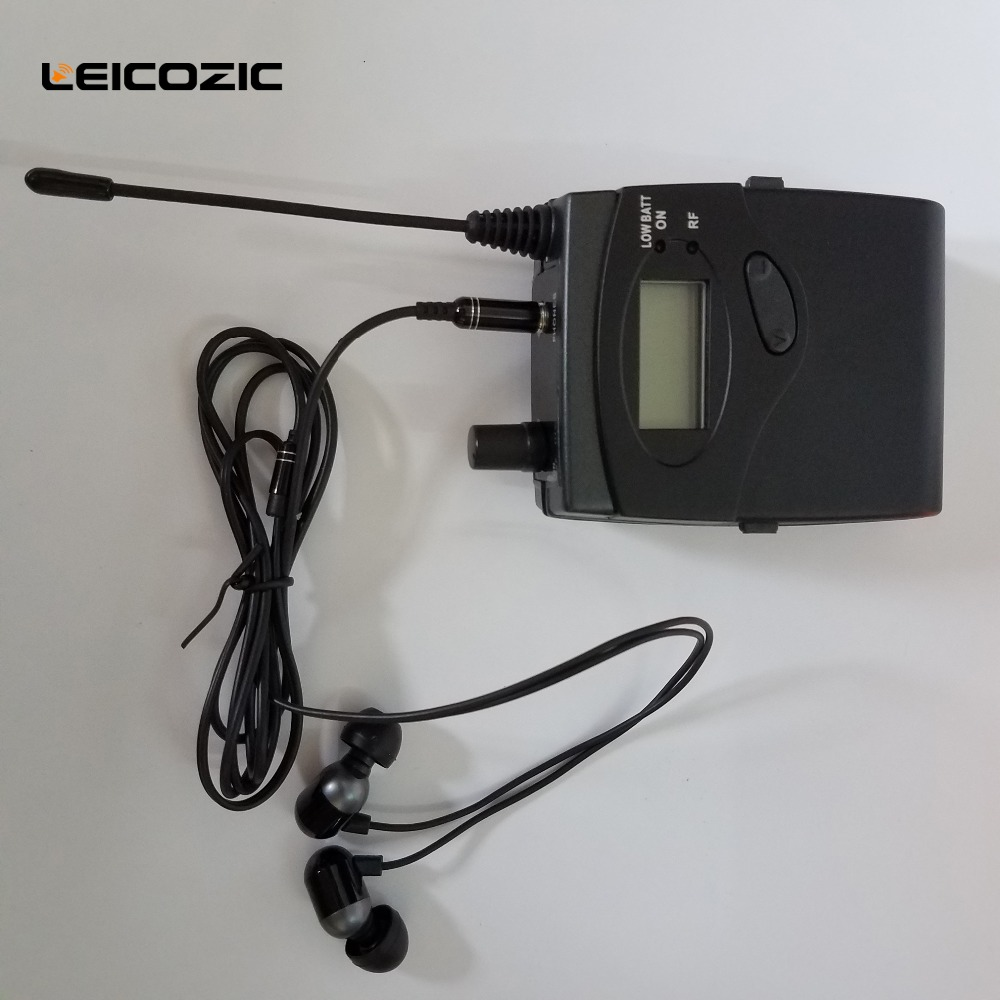 Leicozic SR2050 iem wireless ear monitor system 7 receivers professional monitor ear monitoring system Stage Recording Studio