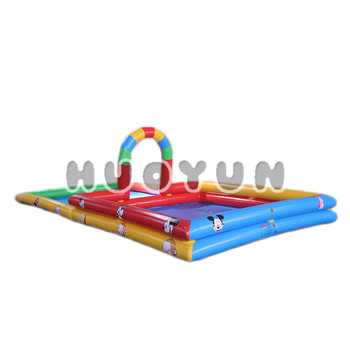 Inflatable Pool Toy Two Part Pool Combine Inflatable Slide Pit Pool Game  For Baby - Buy Inflatable Pool Toy Two Part Pool Combine,Children  Inflatable