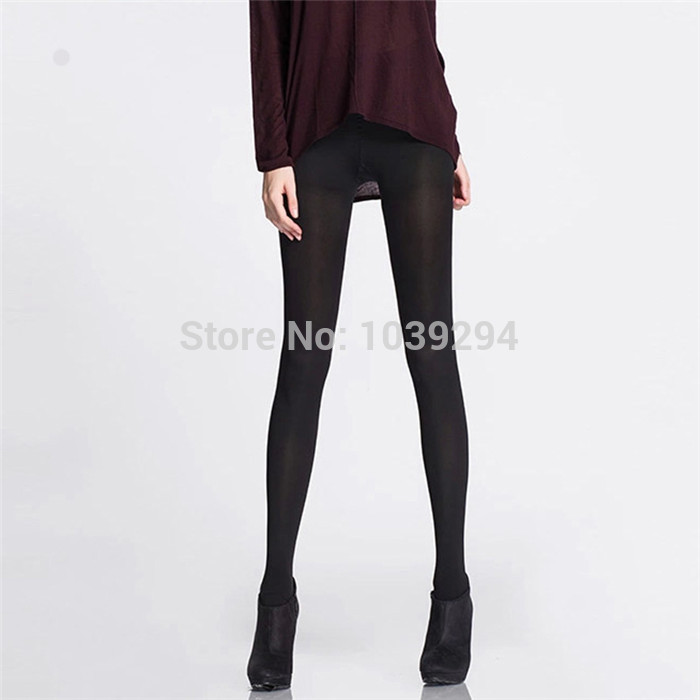 3bad8a216 Get Quotations · Sexy Compression Tights Women s Fashion High Street Black Slim  Pantyhose New Tights Stockings ladies Varicose stockings