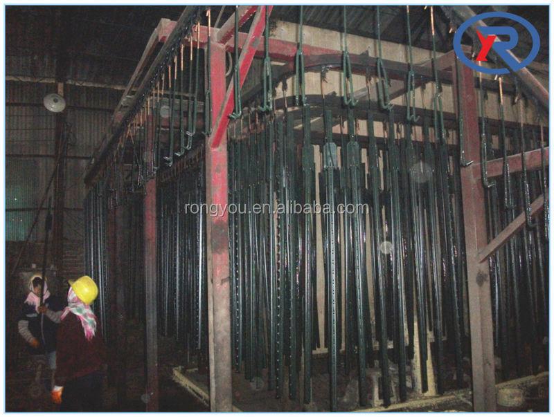 0da914b096c 6-ft Best Price Green Metal T Post Wholesale For Sale decorative metal posts