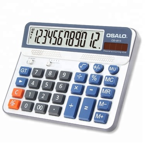 12 digits pc key office calculator desktop big numbers calculator