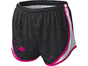 5e36d6f06961 Get Quotations · Iowa Hawkeyes Nike Women s Pink Tempo Shorts Large
