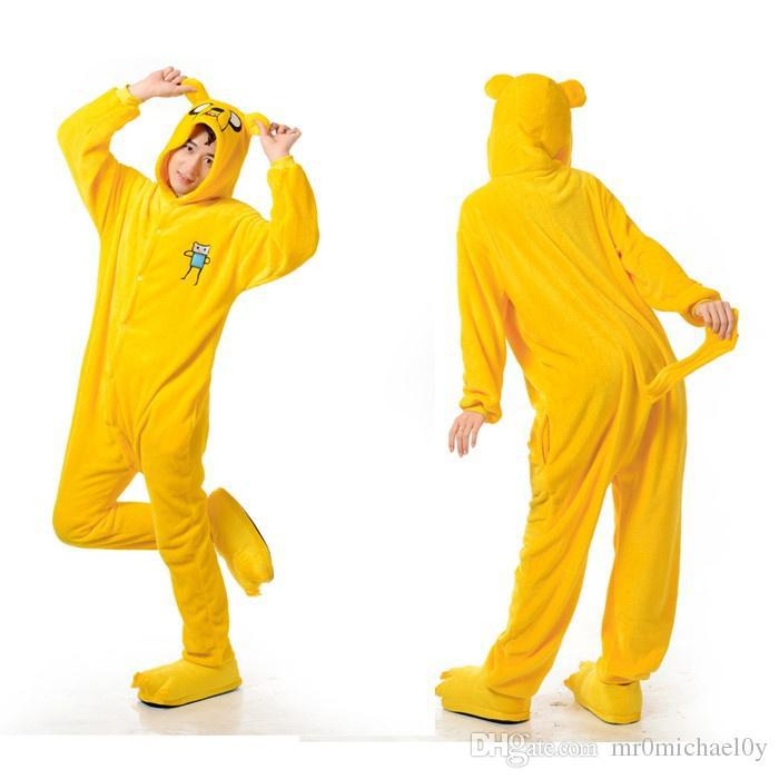 buy adventure time jake animal onesies pajamas for adult cute womens one piece onesies pajamas hooded onesies in cheap price on malibabacom