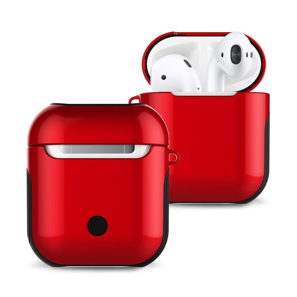 For Airpod Case Protective Shockproof Silm TWS Earphones <strong>Cover</strong> for AirPod Charging Case <strong>Cover</strong>