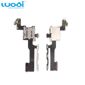 Mobile Phone Repair Part SD Memory Card Reader Volume Power Button Flex Cable for HTC One M9