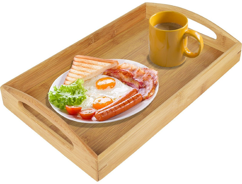 High Quality Bamboo Serving Tray Food Tray 3