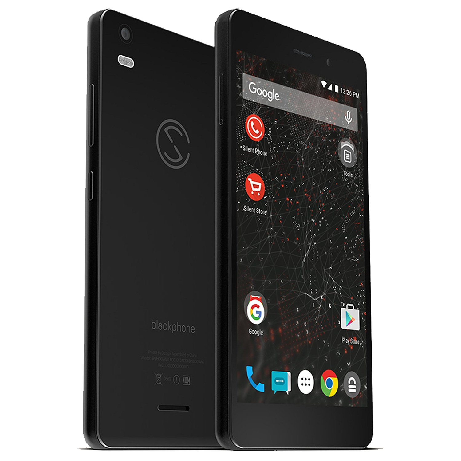 Silent Circle Blackphone 2 32GB Factory Unlocked Encrypted & Secure Smartphone with Annual Silent Phone (within Members) Subscription License