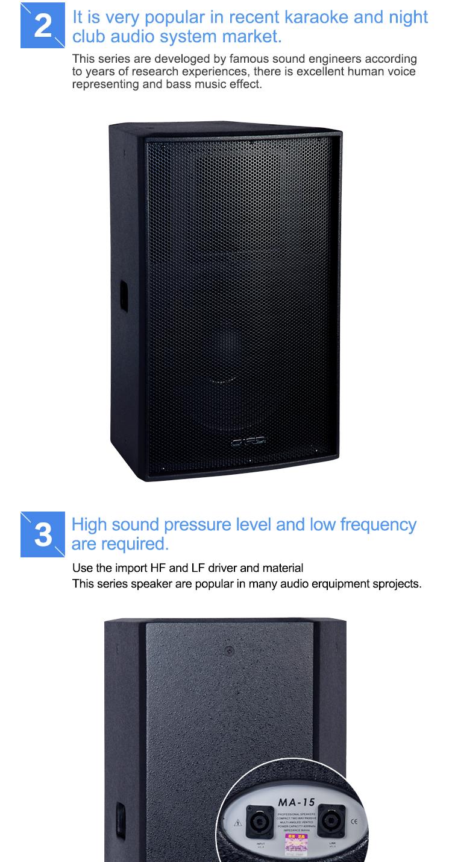 15 Inches Woofer Pro Audio Loud Speaker High Watt Magic Sound Effect Super  Bass Portable Speaker - Buy 15 Inches Woofer Pro Audio Loud Speaker,High