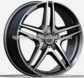 20 Inch Car Wheels 5x112 Custom Alloy Rims Amg Replica Wheel On ...