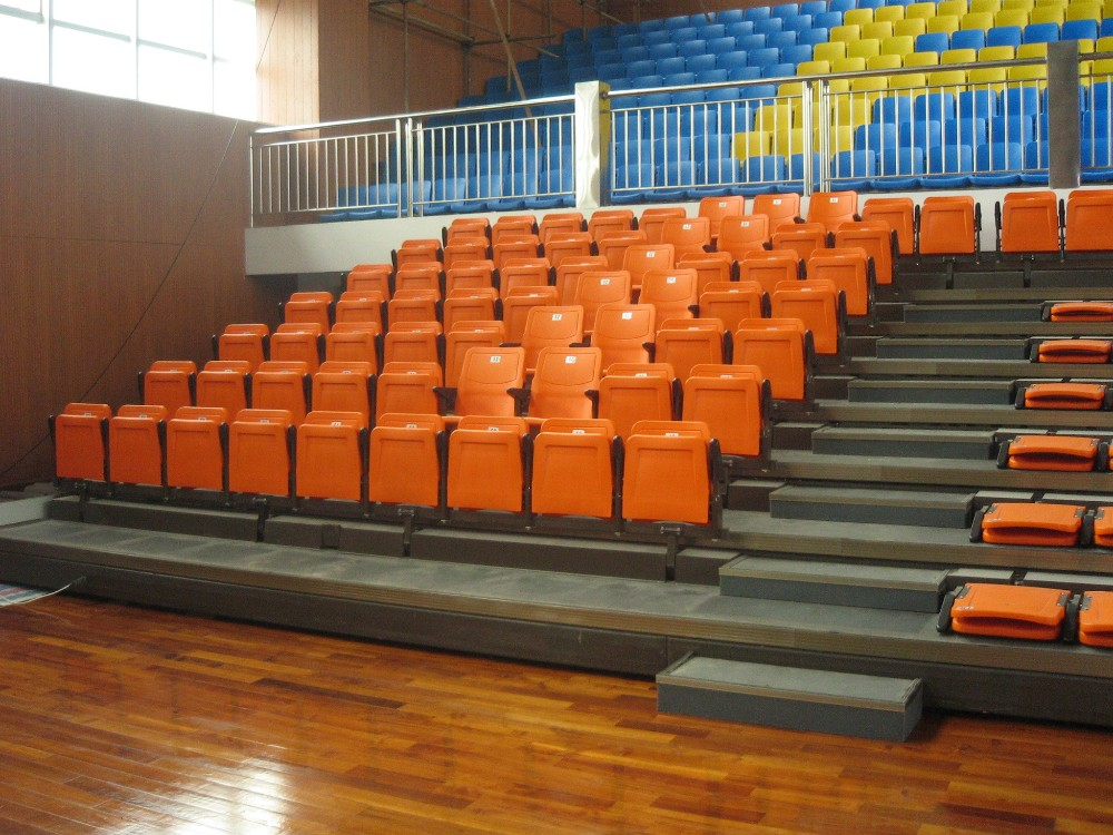 Indoor Bleachers For Sale Plastic Outdoor Stadium Chair Qc