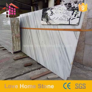 Fashionable tiles and marbles marble wall paper white dolomite marble for design