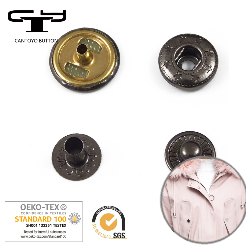 Snap Fastener Designer Coat Buttons Cheap Metal Snap Button Ring Suppliers  In China - Buy 13mm Spring Snap Buttons,Designer Coat Buttons,China