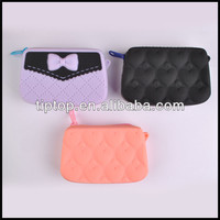 silicone cosmetic evening bag
