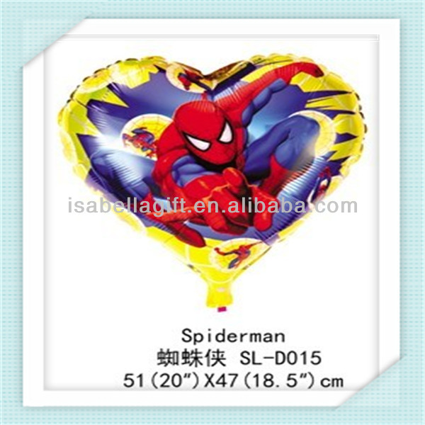 Provide CY brand 18inch size heart shaped foil balloons wholesale