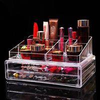 China Acrylic Make Up Display Acryl Storage Organizer Manufacturer