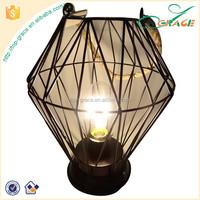 Rope Hanging Metal Line Shape Edison Lamp Lantern Camping Lantern