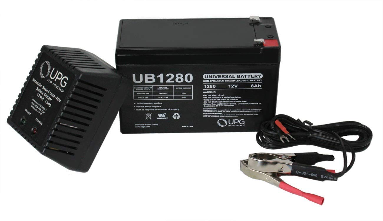 Cheap 12v Sla Battery Charger Circuit Find Lead And Acid Get Quotations Universal Power Group 8ah For Scooters Wheelchairs 1ah