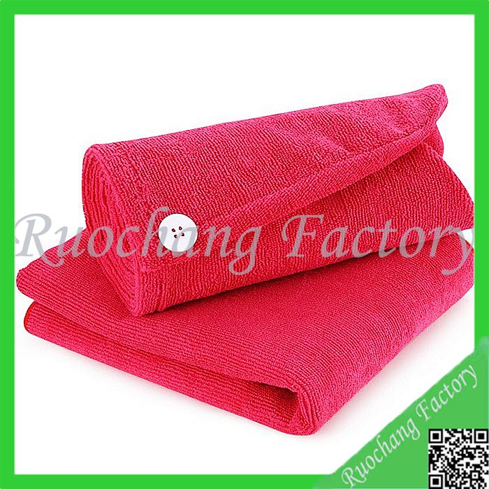 Super soft hair wrap personalized coral velvet dry hair towel ,personalized hair towels