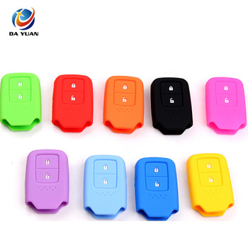 AS062009 Silicone Car Remote Key Cover Case for Honda 2 Button