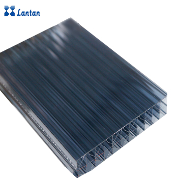 Transparent Polycarbonate hollow sheet Widely Used in Roofing And Greenhouse