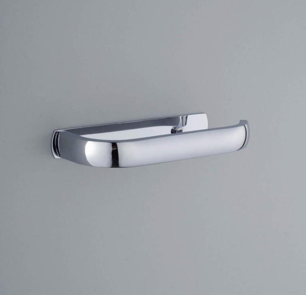 The Brushed Stainless Steel Steel Toilet Paper Door Wall-Accessories Of Bathroom Of Storage Of Tissues Door-Paper Napkins Organization Woven Fabrics Roll Holder Bracket For Bath Home Cooking