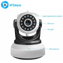IP Camera WiFi 1080P Wireless Camara Video HD IR Night Vision Mini indoor Security Camera