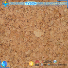 Newest embossed artificial real wood surface cork leather fabric