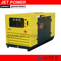 Water-cooled Rated Prime Output Type 10kw 12.5kva 50hz Silent Diesel Generating Sets 403A-15G1