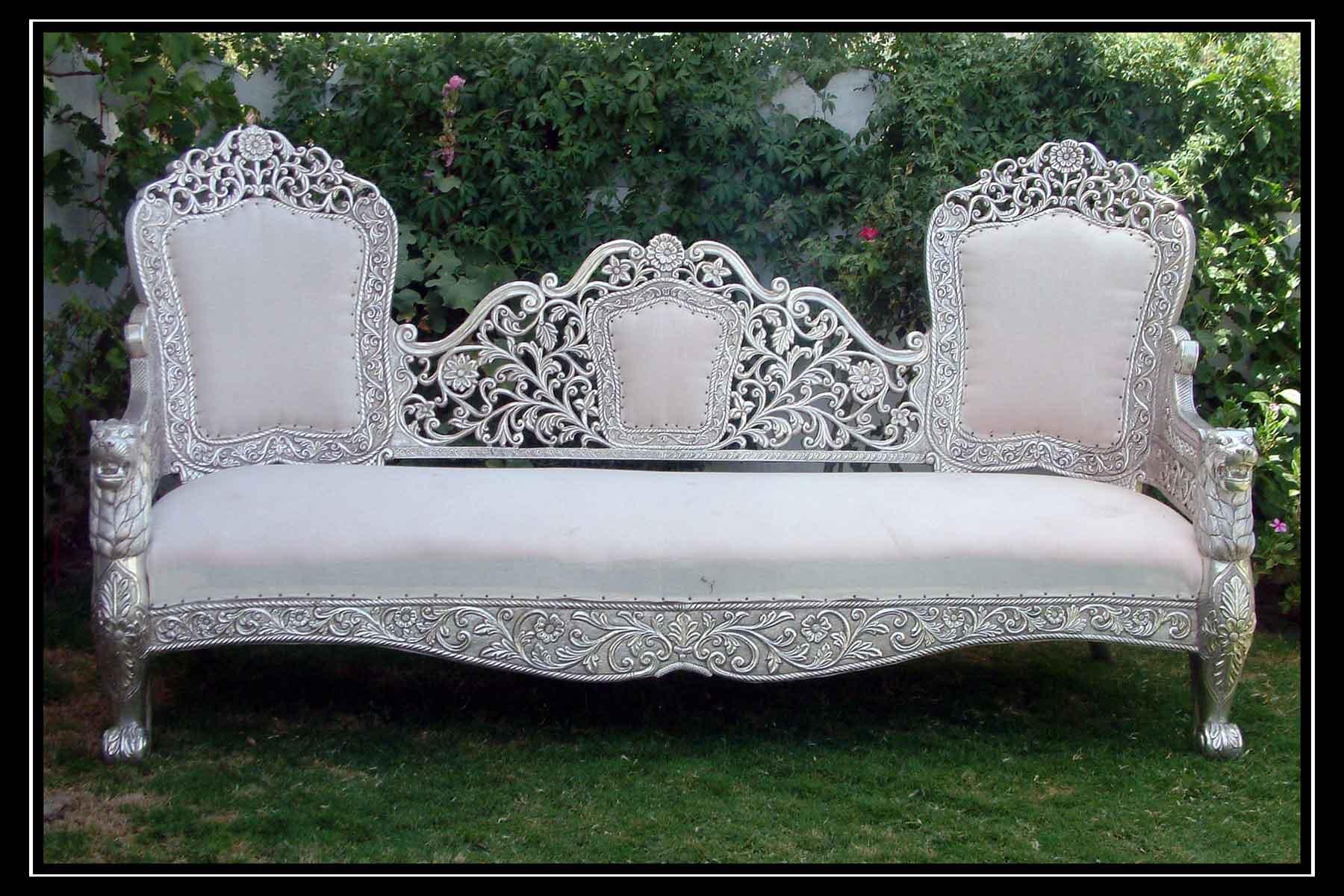 Silver Furniture Silver Sofa Sofas Victorian Silver Furniture